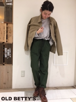 Drawcord Baker Pants