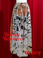 VivienneWestwoodケーブブロケードロングスカート入荷