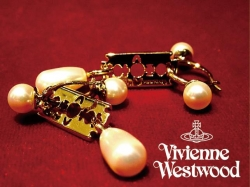 Vivienne Westwood GIGLIOLA PEARL EARRINGS入荷