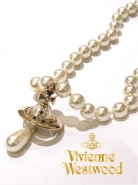 Vivienne Westwood ONE ROW PEARL DROP チョーカー